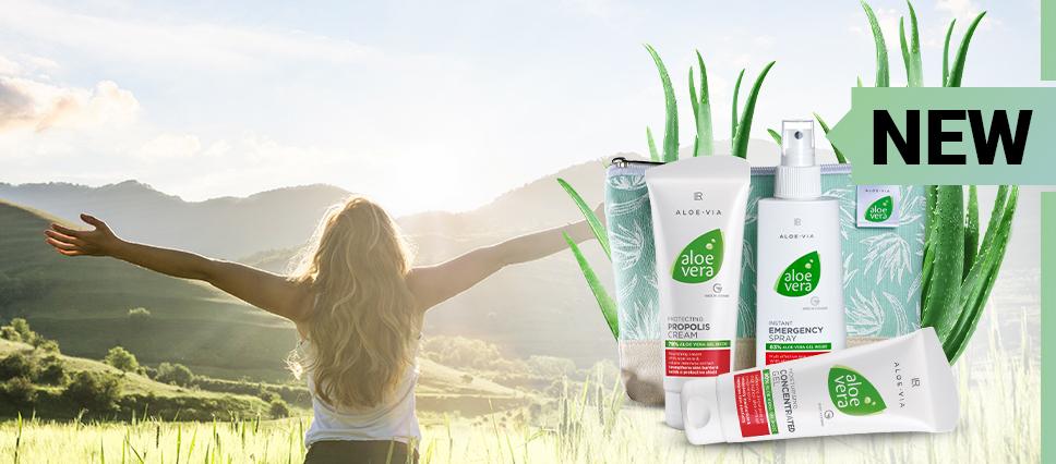 Les essentiels à l'Aloe pour une peau soignée