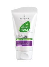 Aloe Vera Masque hydratant express pour le visage