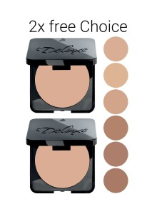 Deluxe Perfect Smooth Compact Foundation, Duopack