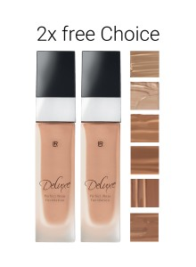 Deluxe Perfect Wear Foundation Duopack