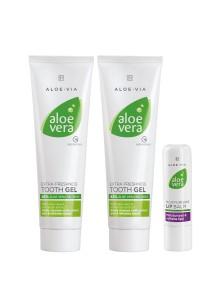 Aloe Vera Set pour les lèvres et les dents
