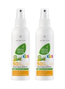 Lait solaire pour enfants SPF 50 - Set de 2