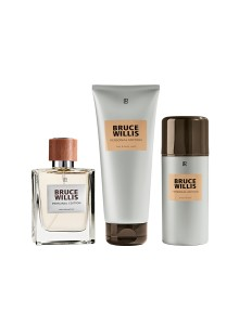 Bruce Willis Personal Edition Duftset: EdP, After Shave Cream Gel & Haar- und Körpershampoo
