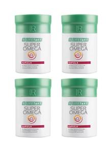 LR Lifetakt Super Omega gélules en set de 4