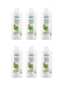 LR Lifetakt Aloe Vera Drinking Gel Intense Sivera pack de 6