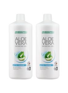 Aloe Vera Drinking Gel Active Freedom en set de 2