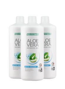 Aloe Vera Drinking Gel Active Freedom en set de 3